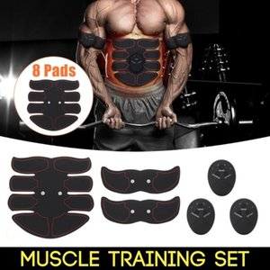 2020 Fat Burning Muscle Strengthen Device Intelligent Abdomen Training Massager Body Building Patch Abdominal Exercise Machine