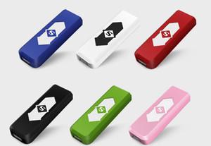 Ekran Kutusu ile Çakmak Şarj edilebilir elektronik sigara USB alevsiz Puro da yay meşale gaz çakmak Sigara Araçları Aksesuarlar sunuyoruz