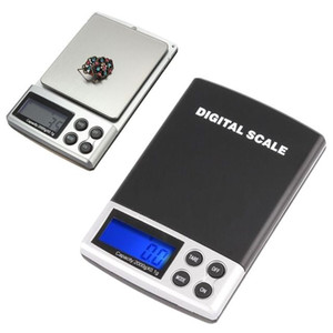 Pocket Scale Bijoux Les balances 200 x Precision Mini Digital Pocket Milligrammes intelligent Balances analytiques pour l'échelle de diamant d'or