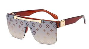 2020 новый авиатор солнцезащитные очки тенденции моды большой кадр солнцезащитные очки женщин мода высокого класса очки 8 цвета Бесплатная доставка 88999