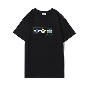 2020 été à manches courtes T-shirts hommes marque de mode T-shirts designers de luxe shirt des hommes Streetwear Hip hop T-shirt Coton