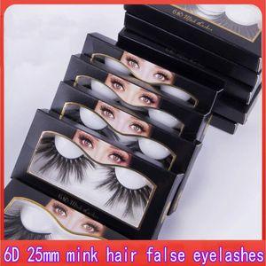 NEW 25mm 3D Mink Eyelash 5D Mink Eyelashes Natural False Eyelashes Big Volumn Mink Lashes Luxury Makeup Dramatic Lashes