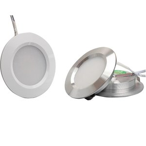 LED Downlight 3W Round Recessed Lamp 12V Low Voltage Led Bulb Bedroom Kitchen Indoor LED Spot Lighting With 2M Terminal Wire