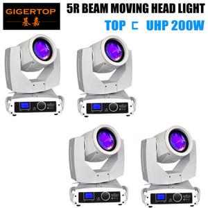 TIPTOP 4 Einheiten Sharpy Lyre Beam 200W 5R Moving Head Licht LED Display Beam 200 Beam 5R Stage Disco Lichter TP-5R