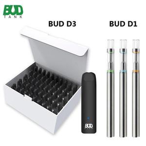 Genuine BUDTANK D3 BUD D1 monouso Vape Pen 0,5 ml vaporizzatore Svuotare Monouso E dispositivo sigaretta Spesso Oil