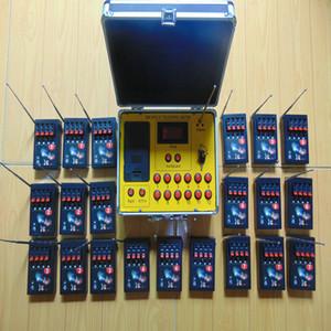 84 signaux Commutateur récepteur sans fil à distance chaud CE FCC fil de connexion ligne jaune double distance 2019 nouveaux feux d'artifice de style affichage sans fil à distance