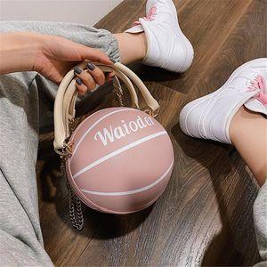 Pink Sugao Women Basketball Handbag Tote Clutch Bags Genuine Leather Basketball Handbags Ladies Fashion Crossbody Bag 2020 New Fashion #32931