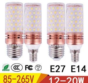 E27 E14 LED luce della lampada Corn NUOVO 12W 15W 20W Corn lampada 85V-265V di alluminio di raffreddamento ad alta potenza della lampadina