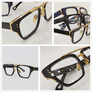 Moda Uomo Eye trasparente vetri vetro libera occhiali miopia presbiopia prescrizione ottica montature per occhiali MACH 3