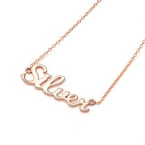 Gem's Ballet Name Necklace,925 Sterling Silver Custom Name Necklace, Custom Jewelry, Custom Necklace, Necklace Women