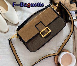 Um designer ++ bolsas nova FF-bolsa de ombro bolsa de moda de luxo crossbody saco com caixa de 26 * 16 centímetros