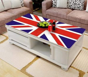 Free shipping 3D UK Flag pattern Computer Desktop Stickers Fashion Creative Stickers Waterproof and Dust Proof Wallpaper Mural T200601