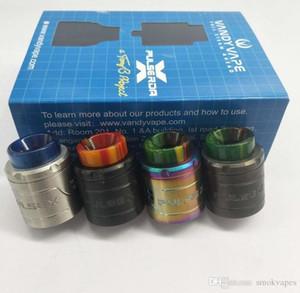 Neueste VandyVape Pulse X BF RDA Clone Austauschbare Dripping Atomizers Vape Vapor Vertikal Bauen Deck für 510 Themen-Box Mods Qualität DHL