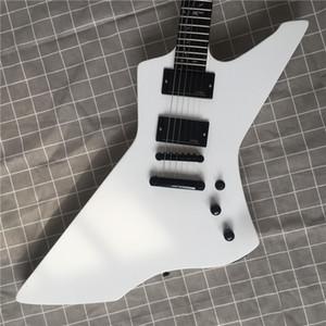 L'alta qualità della chitarra elettrica vernice bianca, chitarra elettrica speciale, Vita Albero Mosaico chitarra, consegna gratuita