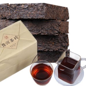 Chinese Puer 1000g Ripe Puer tè nero del tesoro Collection Puer del mattone Vecchio Puerh cotto erh dell'unità di elaborazione Health Care Puerh Green Food