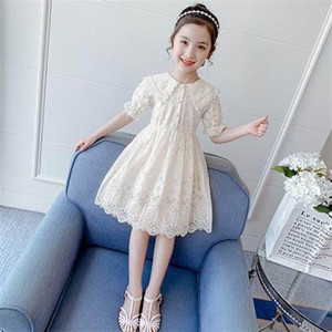 Fashion Family Matching Clothes Mother Daughter Dresses Women Floral Lace Dress Baby Girl Mini Dress Mom Baby Girl Party Clothes#jsnd