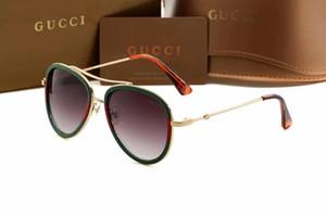 Heiße Verkäufe im Jahr 2020 Designe Mode Freizeit Herren-Brille, retro Freizeit Gläser, Männer und Frauen Paare Sonnenbrillen Großhandel
