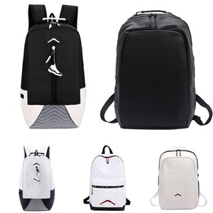 2019 New Mens Fashion Outdoor Sports Backpack Women Casual Outing Travel Black White High Capacity Leather Bags Boy Girl Durable School Bag