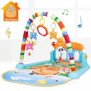 Del gioco del bambino Puzzle Mat bambini Tappeto educativo Tapis tappeto con Piano animale sveglio Playmat Bambino strisciante la ginnastica Giocattoli CX200615