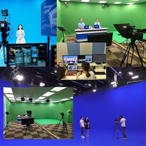 Yüksek kaliteli Studio damla Fotoğrafçılık Arkaplan kalın Yeşil Ekran 3.2x2M Ekran Fotografik Backdrop Fotoğraf pamuk-polyester karışımlı