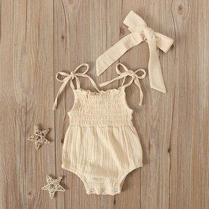 Baby Sling Sólidos Bodysuit Triângulo de Verão de macaco para meninas Roupa Romper do bebé Onesie ropa para