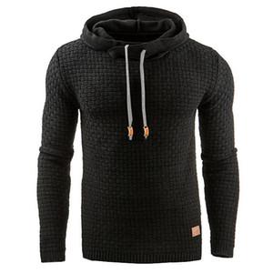 Мужская мода повседневная с капюшоном Европа и Соединенные Штаты осень толстовка теплая толстовка куртка пальто свитер