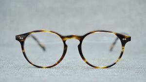 Luxury- Oliver Peoples Стеклянная рамка OV5241 мужчины женская одежда близорукость оправ для очков зеркало новый плоский каркас с футляром
