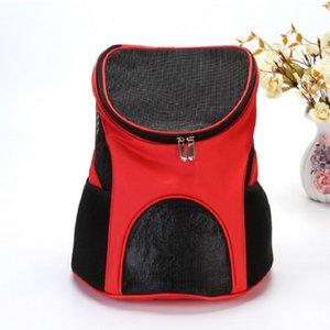 개 고양이 22 8RS UU를 들어 거즈 개 캐리어 전면 가슴 천 가방 운반 야외 여행 내구성 휴대용 어깨 가방