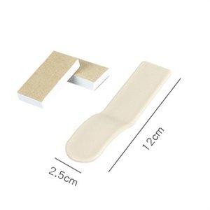 2PC Toilettensitzabdeckung Zunge Lifter Griff vermeiden, berühren Hygienic Prevent Dirtyhand Lifting-Aufkleber Werkzeug Badezimmer-Zubehör Badezimmer Si