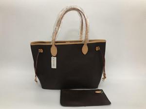 2020 bolsos de las mujeres de cuero nuevo paquete madre factura madre bolso de mano femenino de embarque las mujeres del bolso de hombro del bolso + pequeña bolsa de 32 CM