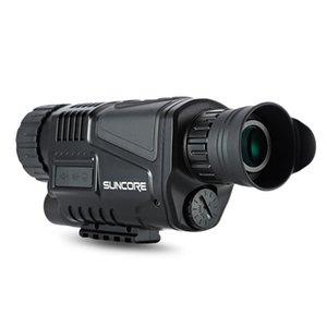 2018-SUNCORE 5 x 40 Infrared Night Digital Telescópio Visão alta ampliação com Vídeo Função de saída Hunting Monocular 200m Ver