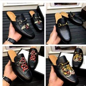 Sıcak Satış 2019 Yeni Hakiki Deri Horsebeit Loafer'lar Scuffs Sandalet Rahat Ayakkabılar Ayağınız Ve Rahat Için