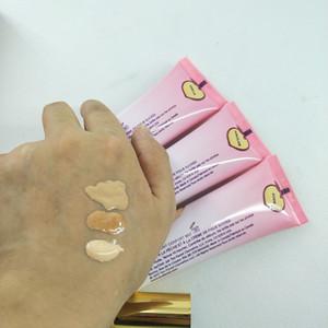 Hot Marke Make-up Foundation Peach perfekten Komfort matte Stiftung 3colors 48ml Gesichtscreme Stiftung Freies Verschiffen der Qualitäts