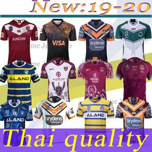 2019 Stato 2020 Leinster dei Maroons origine Lanholton occidentale Tiger anguille Raider Parramatta guerriero Rugby Maglie 2019 2020 S-3XL