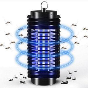110V / 220V Taşınabilir Elektrikli LED Sivrisinek Böcek Öldürücü Lamba Sinek Bug Kovucu Anti Mosquito UV Gece Işığı Tuzak AB ABD Plug DBC BH3672