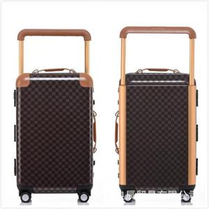 Bagagage d'affaires 20 mini boite de pouce large 22 Cadre d'aluminium Air Pull Box Hommes Custom Logo Factory Grossiste Designer