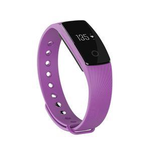 ID107 Akıllı Bileklik Saat Spor Tracker Nabız Adımsayar Kol için Iphone Android Akıllı İzle