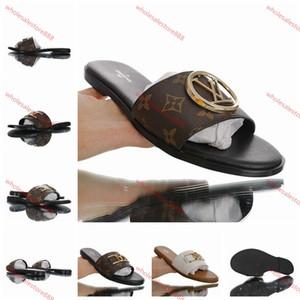 Louis Vuitton  flip flop e Louis Vuitton xshfbcl der Frauen der Männer Plattform High Heels Pantoffeln beiläufige Schuhe, flache Schuhe neuesten Frauenpantoffel Fischer Schuhe