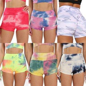 Itfabs Femmes Sport Pantalon taille haute Yoga Legging Fitness Course Gym Scrunch Pantalons # 283