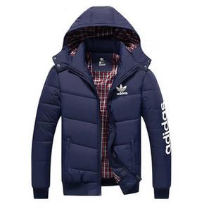 Марка Mens Новый дизайн сгущать хлопка куртки пальто мужчины зима Zipper теплая куртка высокого качества Hoodie хлопка пальто Мужская одежда Свободная перевозка груза