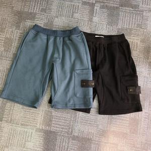 Buscar pantalones cortos de verano de diseñador para hombre de moda Moda 2 colores Impresos cortas cortas 2019 Relajado Homme Sweetpants