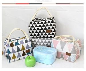 Hand-held saco Bento saco de Isolamento Bento Pacote À Prova D 'Água Pacote de Mamãe Senhora Almoço pacote caixa de almoço sacos pequeno saco de pano bolsa