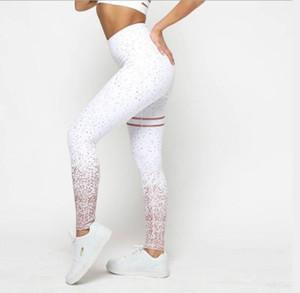Baskılı Uzun Pantolon Kadınlar Skinny Sokak dar elbiseler ile Kadın Tasarımcı Pantolon Sweatpants