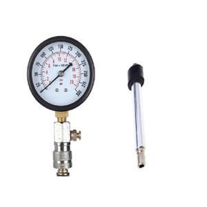 Car Cylinder Pressure Gauge BLACK Vehicle Motorcycle Tool Kit