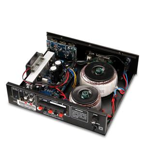 FreeShipping di vendita caldi 70 / 100V PA Tube Amplifier Bluetooth 60W 80W mini bordo amplificatore audio casa Backround con telecomando