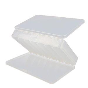 Lure elenxs plástico caixa de armazenamento portátil Dupla Face Isca Organizador Caixa ao ar livre Equipamentos de pesca