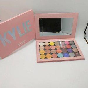 Top vente Nouveaux maquillage cosmétiques Ky magnétique Kylie Vider Palettes Grand Pro Palette 28 couleurs EYESHADOW palette Kylie Jenner fard à paupières Palettes