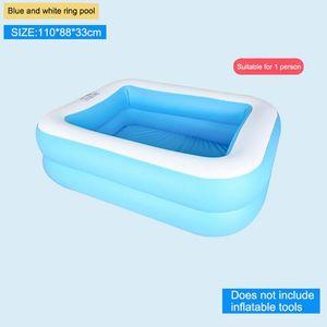 Gonfiabile del bambino Piscina Bambini Ocean Pool bacino scherza il Portable Vasca da bagno Swim Vasche per neonati e bambini a giocare