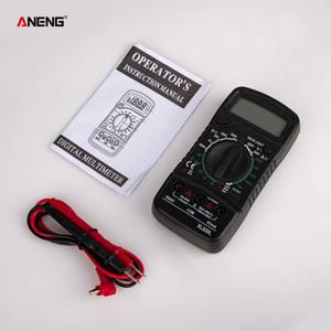 ANENG XL830L метр тестеры цифровой мультиметр ESR автомобильный электрический DMM транзистор тестер измеритель емкости