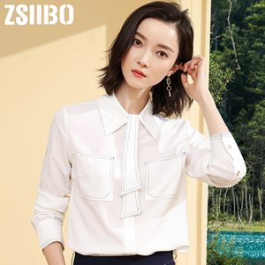 Women Blouse Vintage Button White Work Shirts 2019 Spring Summer Turn-Down Collar office Ladies Plus Size Women Clothes